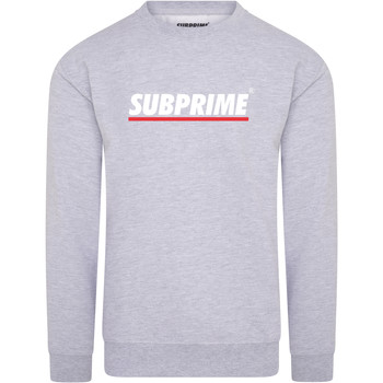 Vêtements Homme Sweats Subprime Sweater Stripe Grey Gris