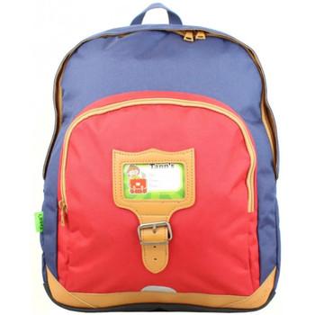 Sacs Enfant Cartables Tann's Sac à dos  Classic Bleu / Rouge T4CL (2s) Multicolor