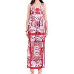 Vêtements Femme Robes longues Lanacaprina PF2231 Rouge