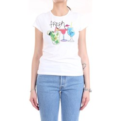 Vêtements Femme T-shirts manches courtes Pennyblack 29715520 T-Shirt/Polo femme blanc blanc