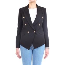 Vêtements Femme Vestes / Blazers Lanacaprina PF2237 Noir