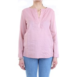 Vêtements Femme Chemises / Chemisiers Cappellini 57M06339L1 Chemise femme Rose Rose