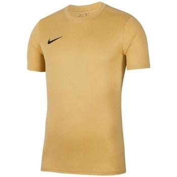 Vêtements Homme T-shirts manches courtes Nike Park Vii Beige