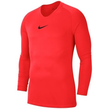Vêtements Homme T-shirts manches longues Nike Dry Park First Layer Rouge