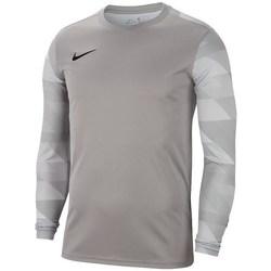 Vêtements Garçon T-shirts manches longues Nike JR Dry Park IV Gris