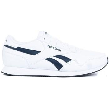 Chaussures Homme Baskets basses Reebok Sport Royal CL Jogger 3 Blanc,Bleu marine