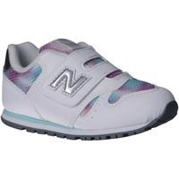 Chaussures Fille Multisport New Balance IV373GW Blanco