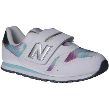 Chaussures Fille Multisport New Balance YV373GW Blanco