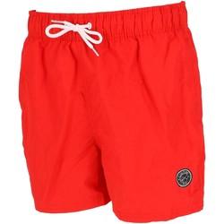 Vêtements Homme Maillots / Shorts de bain Culture Sud Theon short de bain rouge Rouge