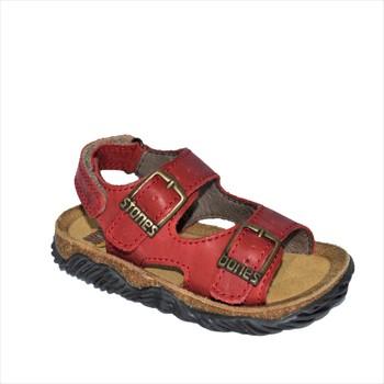 Chaussures Garçon Sandales et Nu-pieds Stones and Bones WHAM rouge