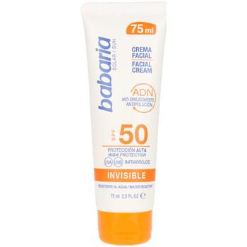 Beauté Protections solaires Babaria Solar Adn Invisible Crema Solar Facial Spf50  75 ml