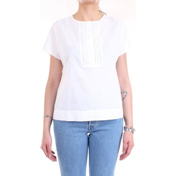 Vêtements Femme Chemises / Chemisiers Cappellini 57M06339L1 TESS 00481 blanc