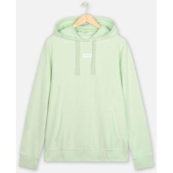 Vêtements Homme Ensembles de survêtement Wrangler Sweat à capuche  Logo Green Spray vert pastel/blanc