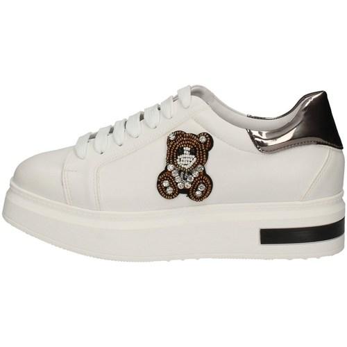 Chaussures Femme Chaussures de Skate Luni 04 BLANC