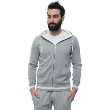 Vêtements Sweats Luigi Borrelli Napoli 12MG2510-M901030 Grigio/bianco