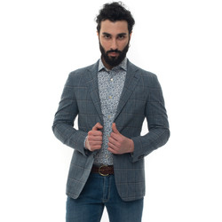 Vêtements Vestes Luigi Borrelli Napoli NISIDA-C907070 Blu medio