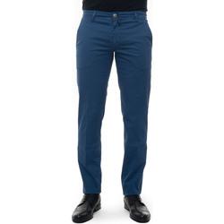 Vêtements Pantalons Luigi Borrelli Napoli PARTENOPE-TJ50172 Blu medio