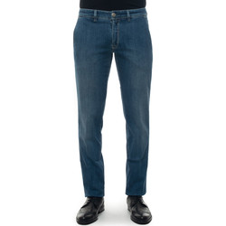 Vêtements Jeans Luigi Borrelli Napoli PARTENOPE-TJ506DENIM Denim medio