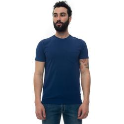 Vêtements T-shirts & Polos Luigi Borrelli Napoli PLX522-K900771 Blu medio
