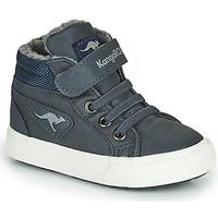Chaussures Garçon Baskets montantes Kangaroos KAVU I Bleu