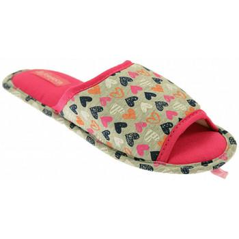 Chaussures Femme Chaussons De Fonseca BARI Mules Multicolore