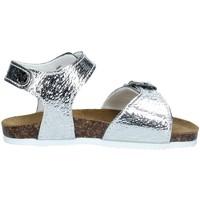 Chaussures Fille Sandales et Nu-pieds Biochic 44108 ARGENT