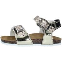 Chaussures Fille Sandales et Nu-pieds Biochic 44101 PLATINE