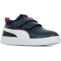 Chaussures Garçon Baskets basses Puma Courtflex v2 V Inf bleu