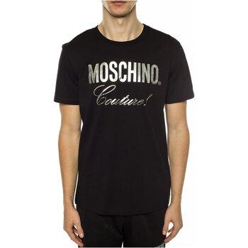 Vêtements Homme T-shirts manches courtes Love Moschino ZPA0715 Noir