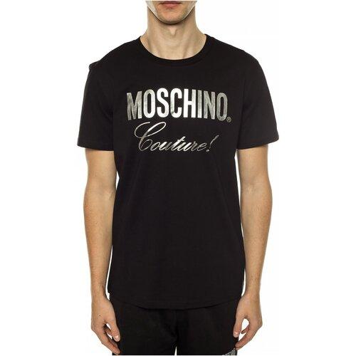 Vêtements Homme T-shirts manches courtes Moschino ZPA0715 Noir