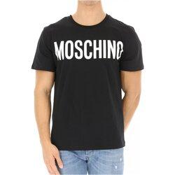 Vêtements Homme T-shirts manches courtes Love Moschino ZPA0705 Noir