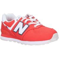 Chaussures Enfant Multisport New Balance PC574SOL Rojo