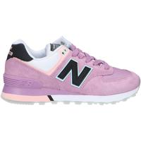 Chaussures Femme Multisport New Balance WL574SAW Rosa