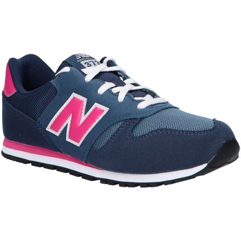 Chaussures Fille Multisport New Balance YC373AB Azul