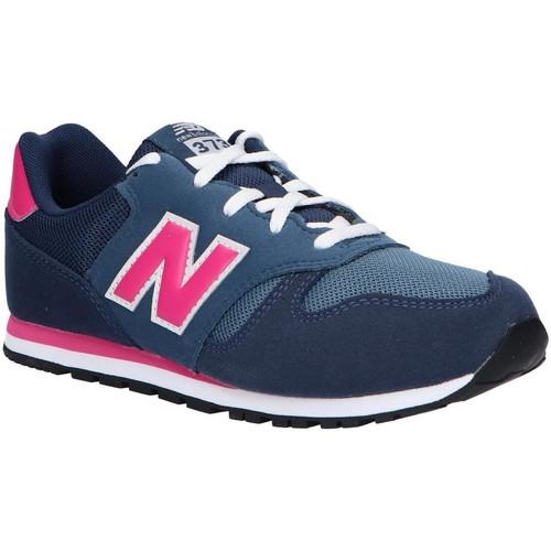 Chaussures Fille Multisport New Balance YC373AB Azul