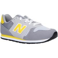 Chaussures Enfant Multisport New Balance YC373AG Gris