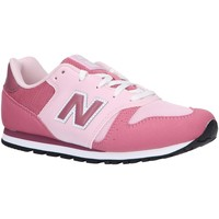 Chaussures Fille Multisport New Balance YC373KP Rosa