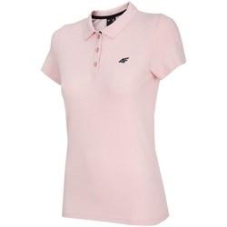 Vêtements Femme Polos manches courtes 4F TSD007 Rose