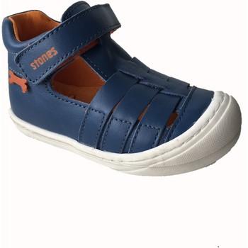 Chaussures Garçon Sandales et Nu-pieds Stones and Bones WEIR bleu marine