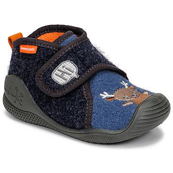 Chaussures Enfant Chaussons Biomecanics ZAPATILLA TWIN Gris / Bleu