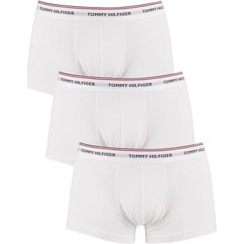 Sous-vêtements Homme Caleçons Tommy Hilfiger Lot de 3 boxers Premium Essentials taille basse blanc
