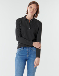 Vêtements Femme Polos manches longues Lacoste PF5464 Noir