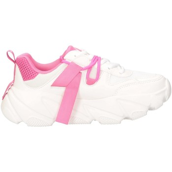Chaussures Femme Baskets basses Shop Art SA020052380157 BLANC / ROSE