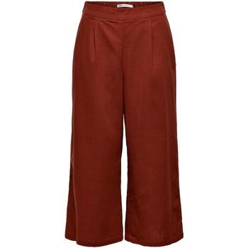Vêtements Femme Pantalons Only ONLCARISA-BIBS CULOTTE rouge