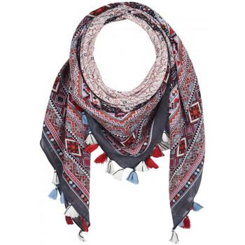 Accessoires textile Femme Echarpes / Etoles / Foulards Allée Du Foulard Foulard carré Latoya Gris