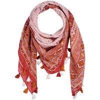 Accessoires textile Femme Echarpes / Etoles / Foulards Allée Du Foulard Foulard carré Latoya Rouge