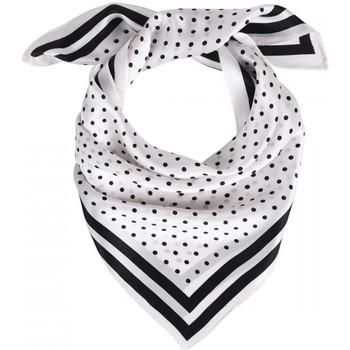 Accessoires textile Femme Echarpes / Etoles / Foulards Allée Du Foulard Carré de soie Piccolo Mazare blanc