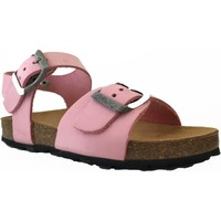 Chaussures Fille Sandales et Nu-pieds Plakton LOUIS rose