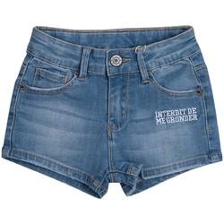 Vêtements Fille Shorts / Bermudas Interdit De Me Gronder KAMA Bleu marine