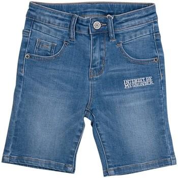 Vêtements Garçon Shorts / Bermudas Interdit De Me Gronder CAMP Bleu marine